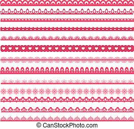 Set of laces