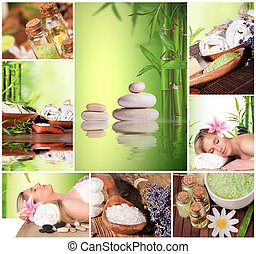 Spa still life collection