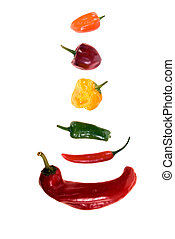 Mixed Chili Peppers - Mixed chili peppers