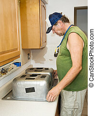 Installing Kitchen Sink