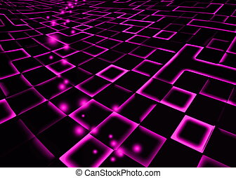 abstract mosaic fuchsia background
