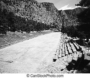 Stadium At Delphi