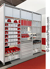 Shelving and racks - Shelving system and cabinet racks for...