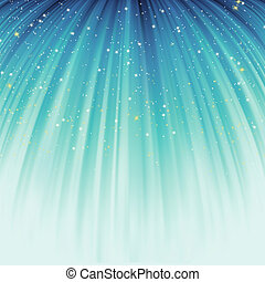 Abstract background with stars descending. EPS 8 - Festive...