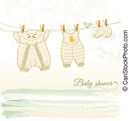 baby shower card - baby  shower card
