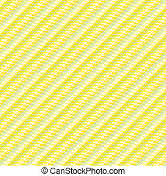 Geometric hipster pattern with diagonal lines - yellow...