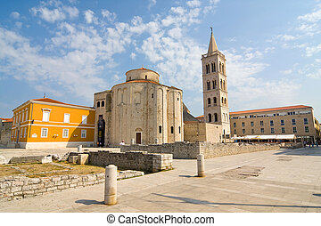 Church of st. Donat, a monumental building from the 9th...