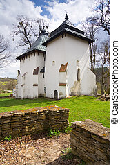 An old Orthodox church, Bieszczady Mountains, South Eastern...