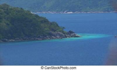 top view over Similan Islands - Similan Islands Thailand top...