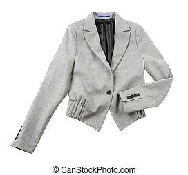 gris, Boléro, blazer