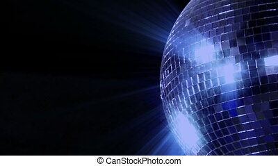 loop disco mirror ball right side - 10395 blue disco mirror...