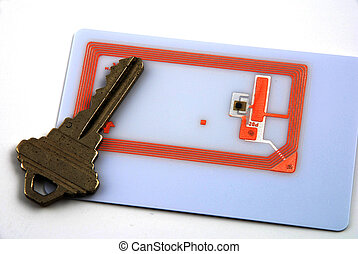 Access control using rfid - Images depicting the use of RFID...