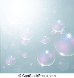 Bubble background - Abstract bubbles background