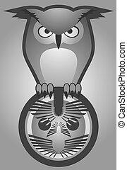 Emblem owl