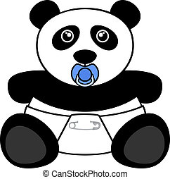 Bear panda - Creative design of bear panda