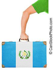 el, guatemala, bandera