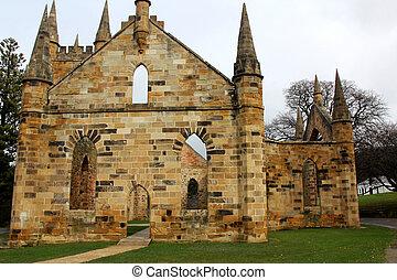 Historic convict church,Port Arthur - Historic convict...