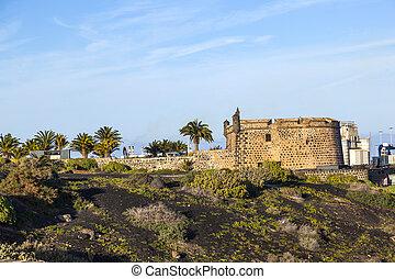 Castillo de San Jose in Arrecife - old Castillo de San Jose...