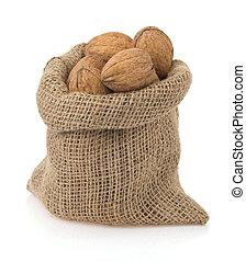 walnuts in bag