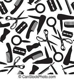 Hairdressing saloon background