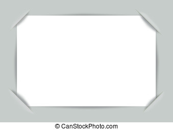 Vector photo frame corners