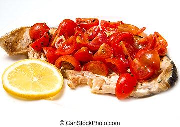 swordfish with tomatoes