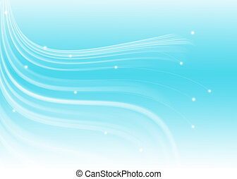 Abstract line texture soft blue background
