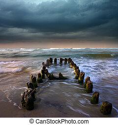 storm over sea - Its a storm over sea