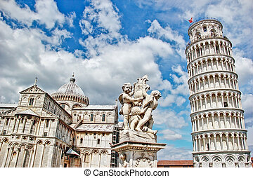 Leaning Tower of Pisa, Italy - hdr - Pisa, place of miracles...