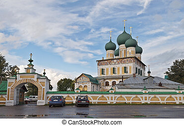 Resurrection Cathedral in Tutaev, Russia - Resurrection...