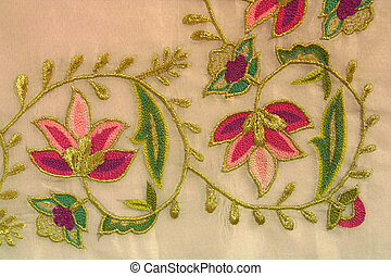 turkish needlework - an example of turkish needlework