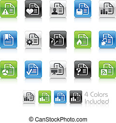 Documents Icons - 2 // Clean Series