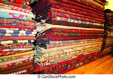 rugs at turkish carpet store