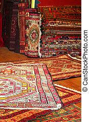 rugs at turkish carpet store