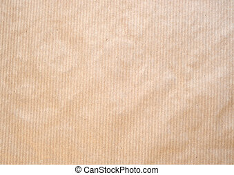 Brown striped paper - Frontal image of a brown striped paper...