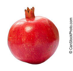 pomegranate  isolated