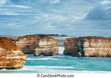 famous australian rocks - famous Rocks in the Bay of Islands...