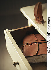 Secret diary - Old secret diary in a drawer