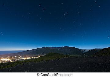 Nightsky at La Palma