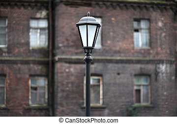 old lantern - old street electric lantern