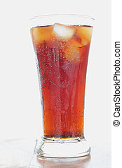 Cola soft drinks.