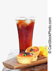 Thailand dessert -soft drink cola - Thailand dessert and...