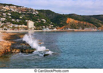 Xabia (Javea) - seaside town with marina in Spain