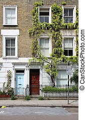 Camden Town - London, United Kingdom - typical houses in...