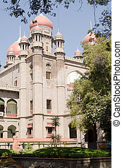 High Court, Hyderabad - View of the Victorian era High Court...
