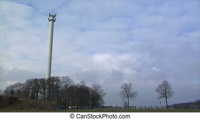 controlled demolition radio tower - 10867 Controlled...