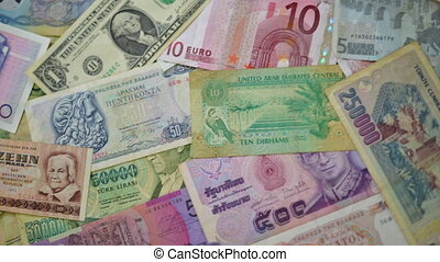 world money dolly move - Money from all over the World -...