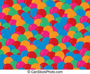 Balloons Many