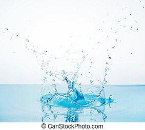 water splash - Close-up of a water splash