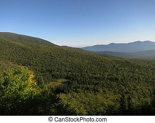 Appalachian Trail - Scene along the Appalachian Trail in...
